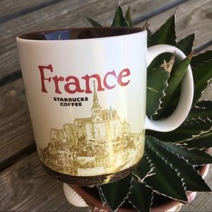 Rare Collectable Starbucks France Coffee Cup Mug